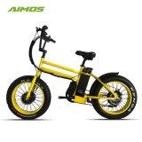 Bici grassa di doppio del motore di alta qualità pollice E di velocità veloce 20