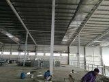 Construcción de edificios comercial modular de la estructura de acero para el supermercado