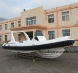 Liya 24.6 pies de China del yate de barco de la costilla para la venta