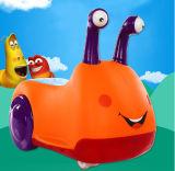 Pp et véhicule de jeu et se réunissant de matériau de fer d'enfants d'oscillation