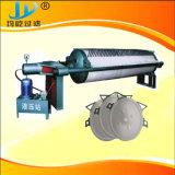 Filtre-presse de asséchage de chambre de plaque de boue ronde de kaolin