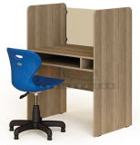 Escritorio de madera modificado para requisitos particulares del vector del ordenador del profesor de estudiantes de los muebles de escuela