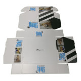 Caja de cartón que barniza brillante por encargo