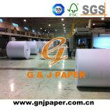 Papier enduit de poids léger de pulpe de Vierge pour la fabrication de marque déposée