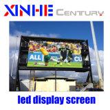 Visualizzazione di LED esterna di alta qualità HD P10 per la pubblicità fissa