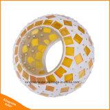 Il giardino alimentato solare della sfera di vetro del mosaico illumina l'indicatore luminoso esterno dell'interno impermeabile cambiante variopinto delle lampade del balcone dell'iarda
