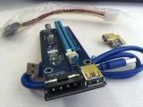 Ver. 007 PCI-E de 4 pinos do adaptador da placa riser
