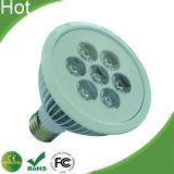 지느러미가 있는 주거를 가진을%s 가진 12W/24W LED PAR38 램프 전구