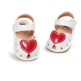 Сандалий лета малыша ребёнка ботинки ходоков резиновый единственных Non-Slip напольных первые