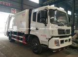 Dongfeng Verdichtungsgerät-Abfall-LKW 8 t-Abfall-Kompresse-LKW für den Export