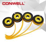 Cable eléctrico de PVC y marcadores de cables