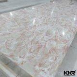 20mm Gletscher-weiße feste Oberfläche für Countertop