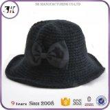 Шлем ведра вязания крючком Bowknot Handmade