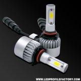 Farol da motocicleta do diodo emissor de luz, carro leve do diodo emissor de luz, farol H4 do diodo emissor de luz