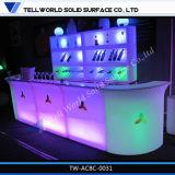 Acrylique moderne élégant bar à vin Compteur de Surface solide (TW-110)