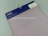 Тканье покрашенное хлопчатобумажной пряжей 100% проверки Fabric-Lz6986
