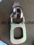 Cicli di sollevamento dell'occhio della frizione dell'anello della costruzione del calcestruzzo prefabbricato con il cavo dell'anello