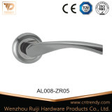 Entry Door Hardware Aluminum Chromium plates Lock Latch Rising Handle (AL004-ZR05)