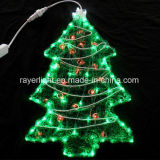 Het Licht van de LEIDENE Boom van de Pijnboom voor de Decoratie van het Huis van Kerstmis