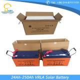 batterie solaire du cycle 250ah profond avec exempt d'entretien