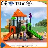 プラスチックスライドの屋外のおもちゃの幼児の運動場装置のコマーシャル(WK-A1225)