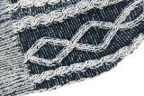 Unisex связанный Beanie шлема зимы жаккарда печати кабеля теплый (HW151)