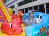 Cow Farm Aufblasbare Combo Bouncer Spielplatz für Kinder springen