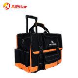 最もよい品質のテンション・バーおよび車輪が付いている多機能の道具袋のトロリーロールバッグ