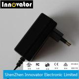 24W 12V 2une série d'alimentation de commutation de mode de montage mural AC adaptateur d'alimentation CC, certifié par la CE et TUV GS