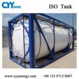 20FT horizontaler ISO-Lachs/Lar-/des Becken-Lin/Lco2 Tieftemperaturspeicher-Becken