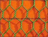 Болт с шестигранной головкой с покрытием из ПВХ и оцинкованной проволоки сетка