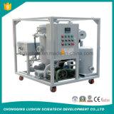 O óleo de lubrificação elevado do purificador do óleo lubrificante da viscosidade de Gzl-500 China recicl o equipamento da limpeza do petróleo hidráulico da máquina (o ISO)
