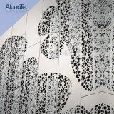 Panneaux de mur en aluminium de revêtement de façade en métal