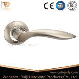 Accesorios de la palanca de bloqueo de puerta de aluminio mangos en Rose (AL147-ZR02)