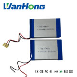bateria do Li-Polímero de 504870pl 2000mAh 7.4V para a posição