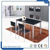 Table à manger en bois de forme rectangulaire Set Table MDF