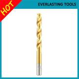 Morceaux de foret Ti-Enduits de la torsion 1mm-13mm pour le métal Drilling