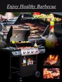 新しいデザインガスこんろのバーベキューのグリル便利な屋外BBQのオーブン