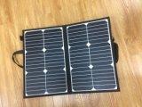 80W cobertor Painel Solar Dobrável para camping com bateria