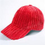Kundenspezifischer Kordsamt-warme Hut-Schutzkappen-Frauen-Schutzkappe