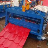 上海は機械生産ラインを形作る屋根によって艶をかけられたタイルロールを波形を付けた