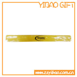고품질 주문을 받아서 만들어진 인쇄된 로고 실리콘 철석 때림 팔찌 (YB-LY-WR-45)