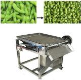 Haute qualité Le bombardement de haricot rond de soja vert desquamation de la machine