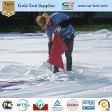 18x24m Peg de crête élevée en PVC blanc et le pôle de tentes de mariage pour 500 personnes