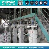 Aplicação amplamente 40t/h a linha de produção de pelotas de alimentação com o moinho de péletes