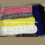 Écharpe colorée de fourrure de lapin de Rex de Faux en vente