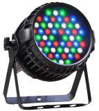Vendite calde di 54X3w RGBW della fase di PARITÀ esterna dell'indicatore luminoso PAR64 DMX LED popolari
