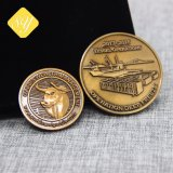 Preiswerte gute Qualitätsfabrik-Preis-kundenspezifische Kupfermünze