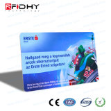 Cartão de papel de RFID impressão CMYK para pagamento de bilhete