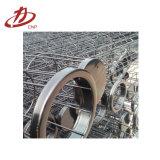 Gabbia industriale di sostegno del sacchetto filtro Venturi del collettore di polveri